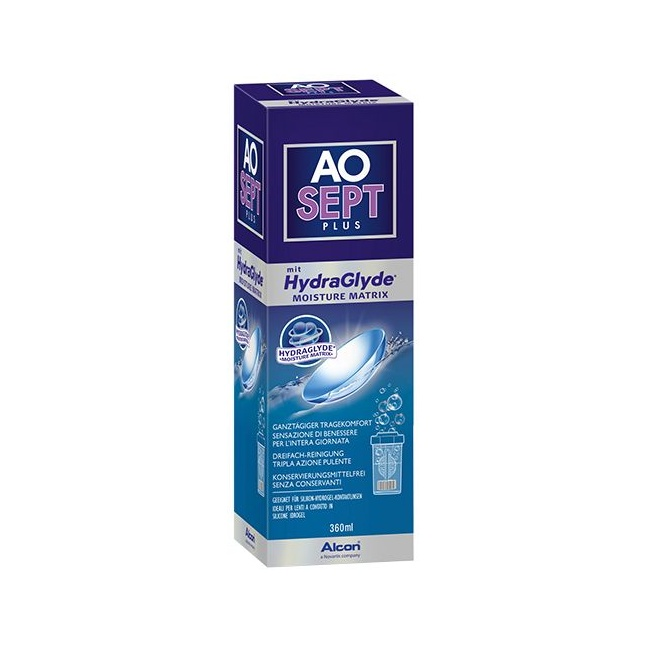 AOSept Plus mit HydraGlyde 360 ml