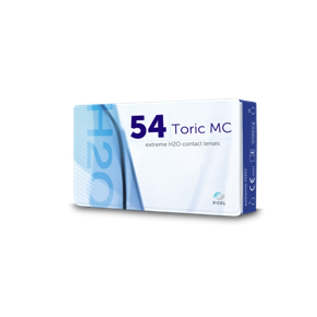 Extreme H2O 54% Toric MC (mid cylinder)